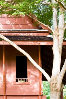 Free Thai Houses Royalty Free Stock Photo - 26328995