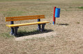 Free Yellow Bench Royalty Free Stock Photo - 26332945