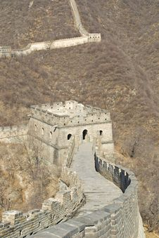 Free Great Wall Of China Stock Photo - 26331100
