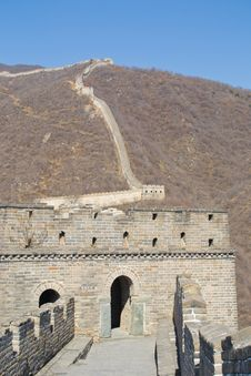 Free Tower Of Great Wall Of China Royalty Free Stock Photography - 26331367