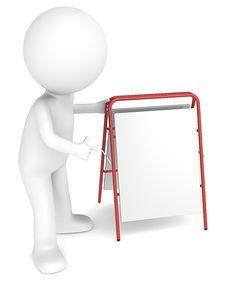 Free Sandwich Board. Stock Image - 26332001