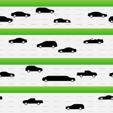 Free Highways Traffic Seamless Texture Royalty Free Stock Photos - 26333768