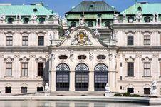 Free Belvedere In Vienna, Austria Stock Photography - 26334202