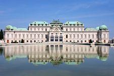 Baroque Castle Belvedere, Vienna, Austria Royalty Free Stock Image