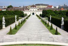 Free The Lower Belvedere, Vienna, Austria Stock Photo - 26334240