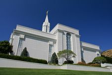 Free Bountiful Utah Mormon Temple Stock Images - 26336714