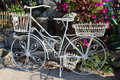 Free The White Of An Antique Bike Royalty Free Stock Image - 26340886