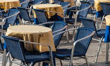 Free Restaurant Terrace Royalty Free Stock Images - 26340539