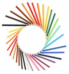 Free Crayons Frame Stock Photography - 26341162