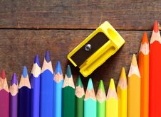 Free Pencil Sharpener Royalty Free Stock Photo - 26341175