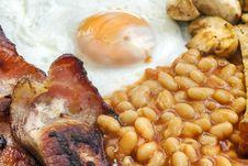 Free Fried Breakfast Stock Image - 26342131
