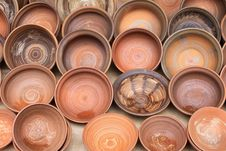 Free Earthenware In The Market Royalty Free Stock Images - 26345159