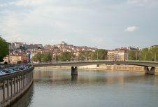 Free Alphonse Juin Bridge, Saone River, Lyon, France Stock Image - 26345971
