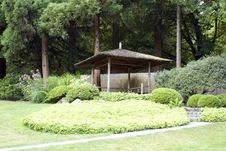 Free Pavilion In A Garden Stock Images - 26348904