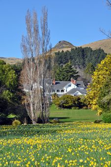 Free Otahuna Lodge In Spring, Canterbury, New Zealand Stock Photography - 26349522