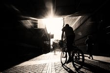Free Cyclist Royalty Free Stock Images - 26349929
