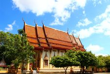 Free Thai Buddhism Church, Phuket, Thailand Royalty Free Stock Photo - 26351645