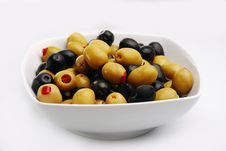 Free Olives Royalty Free Stock Photography - 26353627