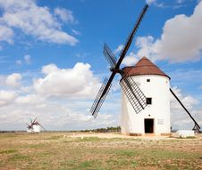 Free Medieval Windmills Stock Photography - 26353922