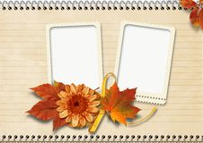 Free Vintage  Notebook Page With Frames Royalty Free Stock Photos - 26354138