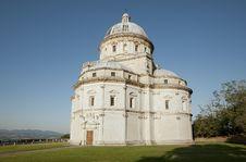 Free Santa Maria Della Consolazione In Todi Royalty Free Stock Photos - 26359328
