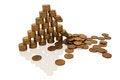 Free Crash Financial Pyramid Stock Photos - 26360943