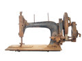 Free Rusty Skeleton Of An Ancient Sewing Machine. Stock Photography - 26363952