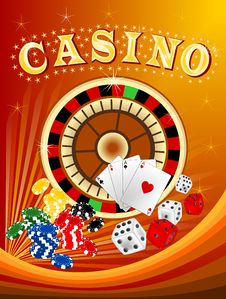 Free Casino 3 Stock Photography - 26364842