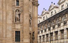 Prague Architechture Royalty Free Stock Photo