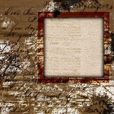 Free Vintage Grungy Frame Stock Images - 26365814
