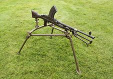 Free Machine Gun. Stock Image - 26366081