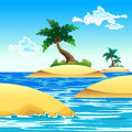 Free Small Coconut Island Stock Images - 26374584