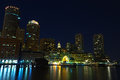 Free Boston By Night Stock Images - 26377754