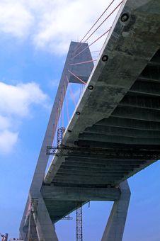 Free Construction In Bridge Royalty Free Stock Image - 26371286