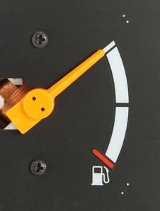 Free Fuel Gauge Royalty Free Stock Image - 26371996