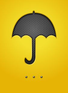 Free Abstract Background With Umbrella Royalty Free Stock Photo - 26373785