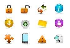Free Vector Informative Icon Set Stock Photo - 26375360
