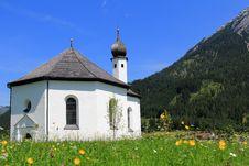 Free St. Annakirche In Achenkirch - Tyrol,  Austria Stock Images - 26377134