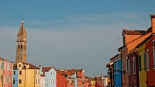 Free Colorful Houses In Burano Stock Photos - 26378363