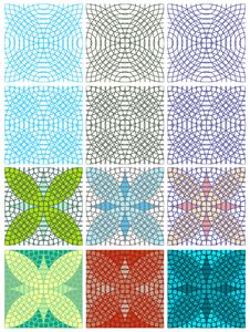 Free Vector Seamless Texture With Circles Stock Photography - 26379462