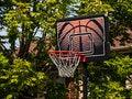 Free Basketball Dunk Stock Image - 26385811