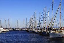 Free Marina, Sailing Yachts Royalty Free Stock Images - 26381189