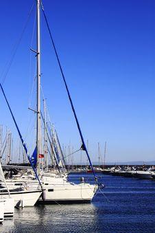 Free Marina, Sailing Yachts Stock Photography - 26381272