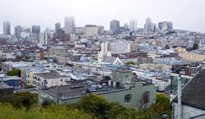 Free Homes Buildings San Francisco Community California Royalty Free Stock Photo - 26382835