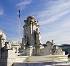 Columbus Monument Royalty Free Stock Image