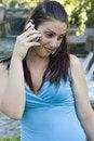 Free Girl Talking Cell Stock Photos - 2640213