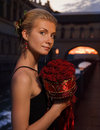 Free Girl With A Boquet Royalty Free Stock Photos - 2649298
