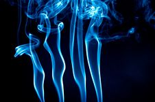 Free Blue Smoke Stock Image - 2640381