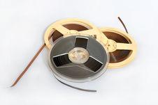 Free Magnet Audio Tape Stock Photo - 2641380