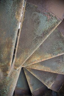 Free Rusty Stairs Royalty Free Stock Photos - 2641658